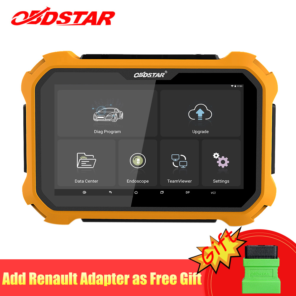 OBDSTAR X300 DP Plus Auto Key Programmer Full System Tablet Odometer Correction Immobilizer Professional OBD2 Automotive