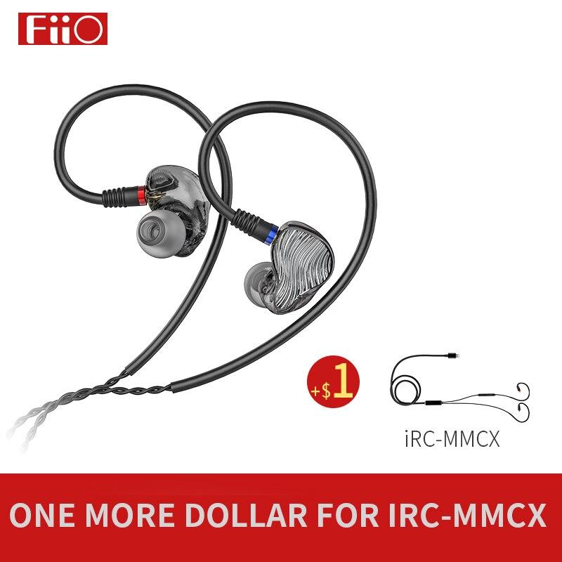 FiiO FA1 3D Printed Detachable Cable MMCX Design Single Driver Balanced Armature HIFI In Earphone Headphone