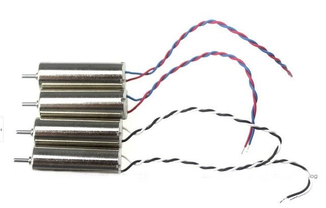 Mini Coreless Motor Set F08528 8520 CW CCW Brushed 8x20mm for Hubsan H107 A23 H107D H107C