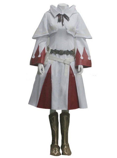 US $99 75 5% OFF|Final Fantasy XIV A Realm Reborn White Mage Cosplay  Costume Anime Custom Made Uniform-in Game Costumes from Novelty & Special  Use on