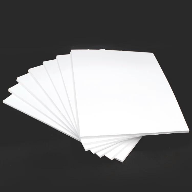 Купить с кэшбэком 50sheets A4 Semi Glossy  double side menu printing thick paper 157g or  200g  for mono laser printer/color laser printer