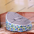 FREE SHIPPING baby bean bag with 2pcs gray up cover bean bag seat bean bag no filler bean bag furniture