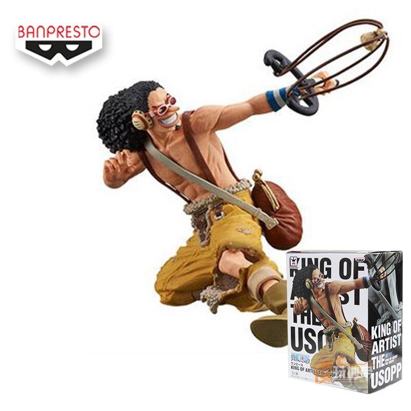 ФОТО One Piece Usopp Figure 230mm Usopp Action Figure Brinquedos Meninos Japanese Anime Figures Anime One Piece Pvc Figures