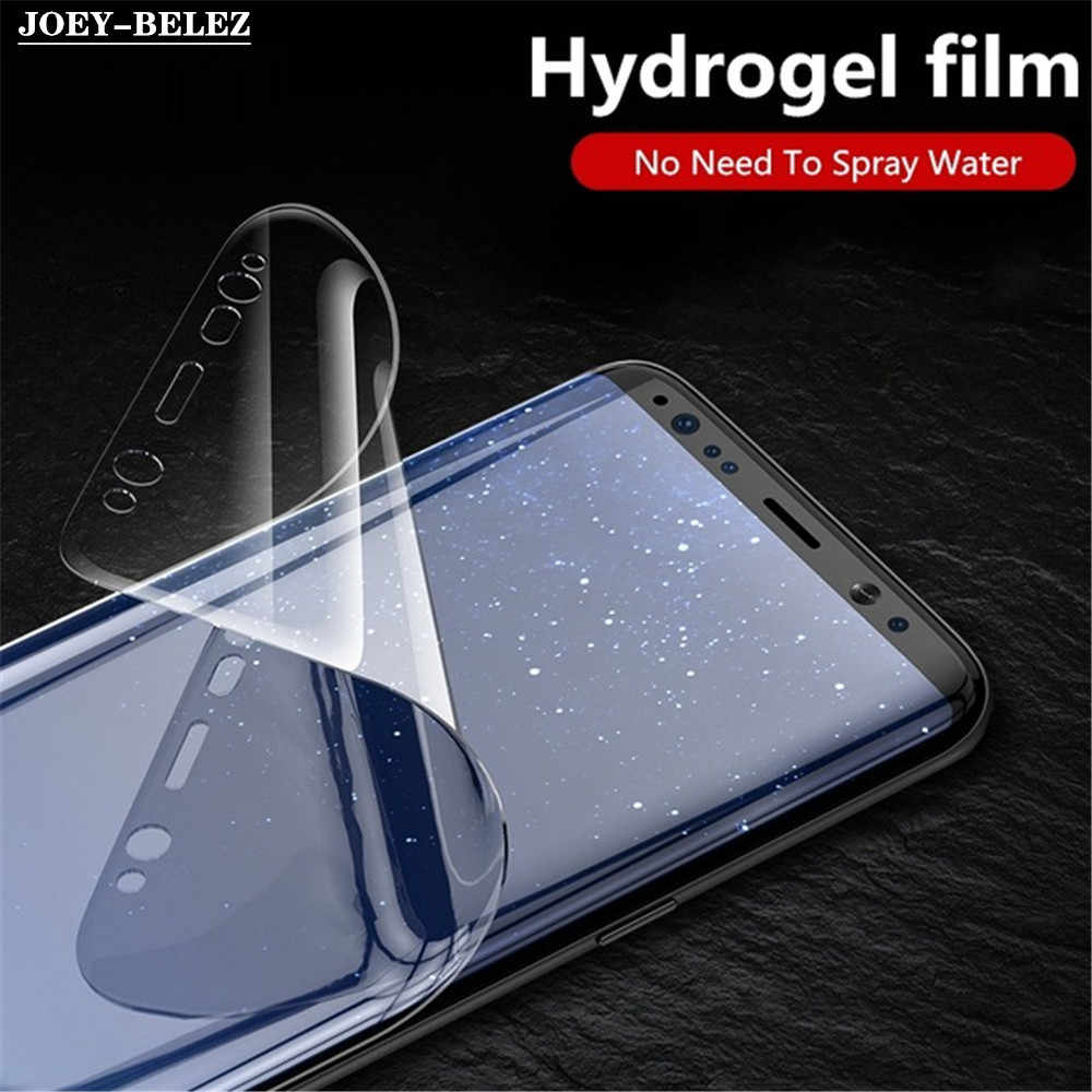 Full Cover Soft Hydrogel Film For Samsung Galaxy S10 lite J4 J6 Plus A6s A8s A9s A7 2018 A5 J5 2017 Screen Protector (Not Glass)