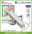 New 2014 Clever&Happy 3d puzzle Wright Flyer child puzzle early learning toy paper handmade model learning & education