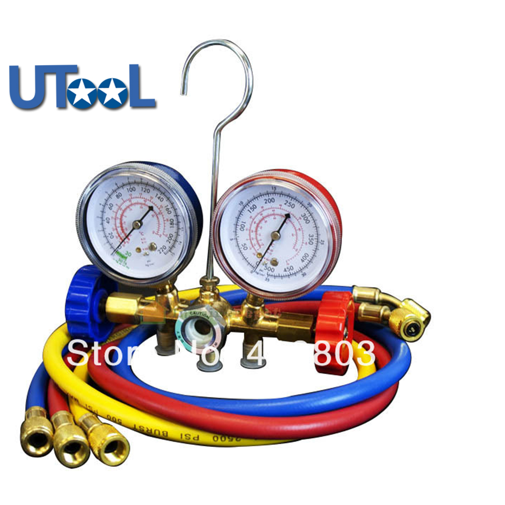Freon Adding Gauge For Auto Air Conditiong Syetem&R12 R22 R502 Manifld Gauge запчасть rubena r12 tomcat 29 x 2 10