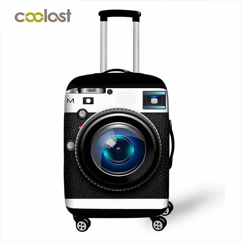 Крутой защитный чехол на колесиках, эластичный чехол для багажа, чехол для камеры, чехол для багажа, аксессуары для путешествий