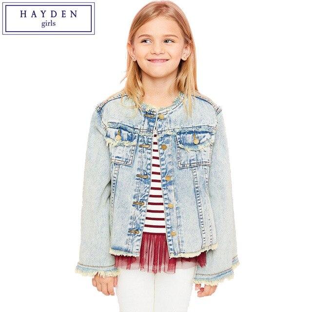 HAYDEN Mädchen Jeansjacke Kinder Frühling Herbst Marke Kinder Jeans ...