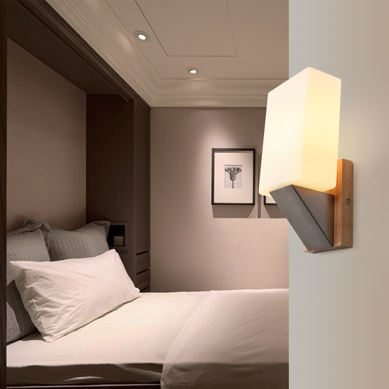 Modern brief bedroom read wall lamps simple wall lamp bedroom dining modern brief bedroom read wall lamps simple wall lamp bedroom dining living kitchen room wall lights apliques pared in wall lamps from lights lighting on aloadofball Choice Image