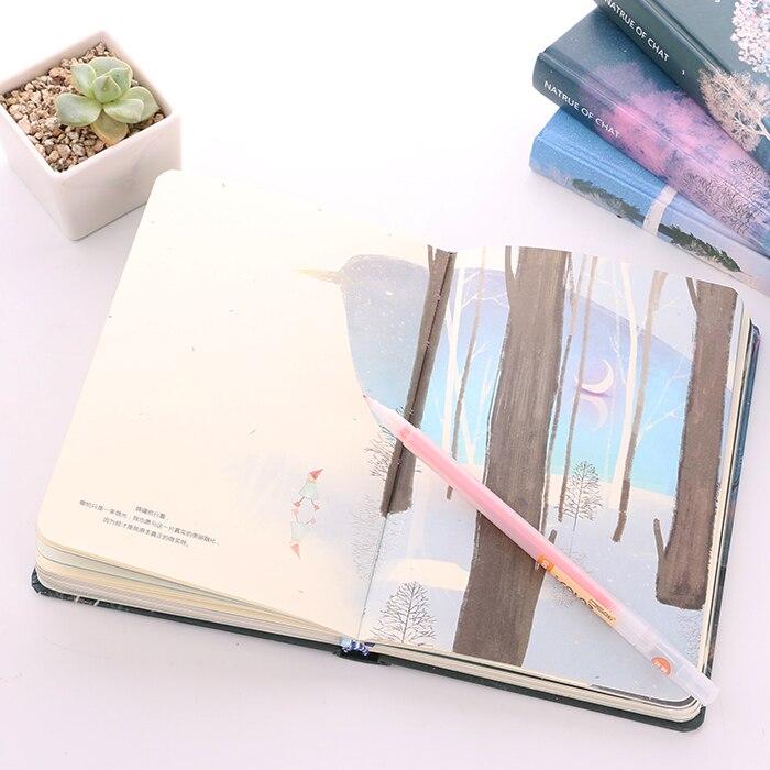 Блокнот с проиллюстрированными страницами | Aliexpress