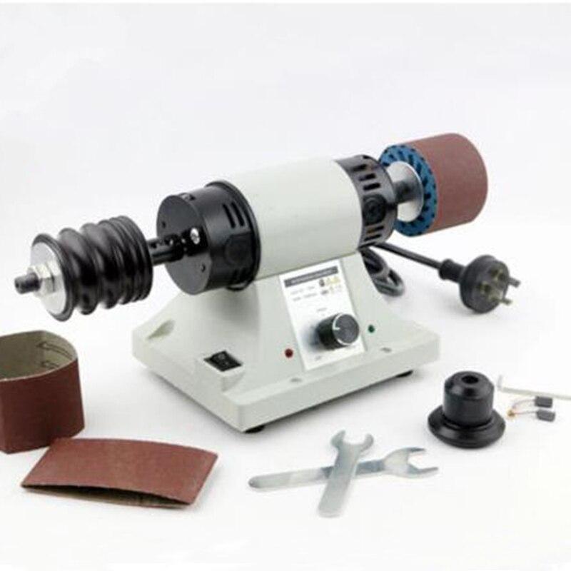Leather polishing machine Belt leather edge burnishing machine