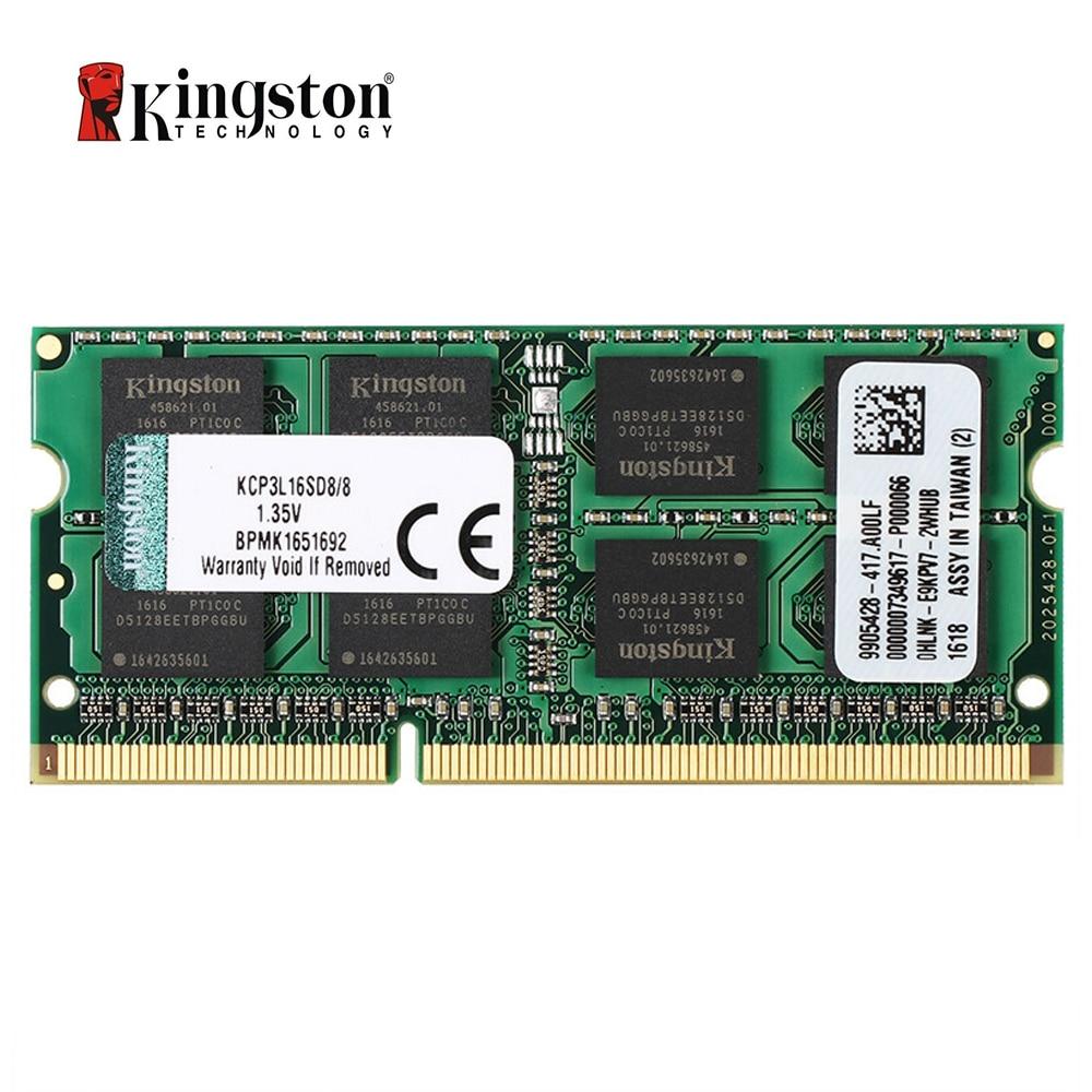 Kingston 8GB DDR3L 1600MHz 1.35v Laptop RAM (KCP3L16SD8/8)