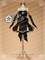 Fate/Zero Black Saber Party Dress Cosplay Costume Halloween Uniform Outfit Custom-made