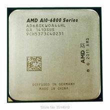 AMD A10 Series A10 6800 A10 6800K A10 6800B 4,1 ГГц четырехъядерный процессор AD680KWOA44HL/AD680BWOA44HL разъем FM2