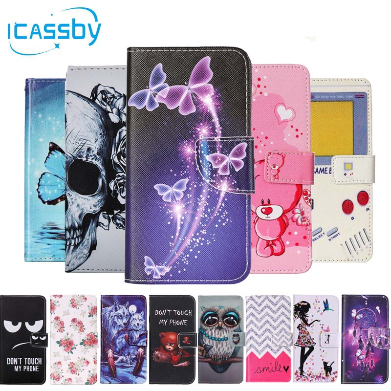 Phone Etui For Coque Huawei P8 Lite 2017 Case Luxury Leather Wallet Flip Cover For Huwawei Honor 8 Lite Nova Lite Capinha Hawei ...
