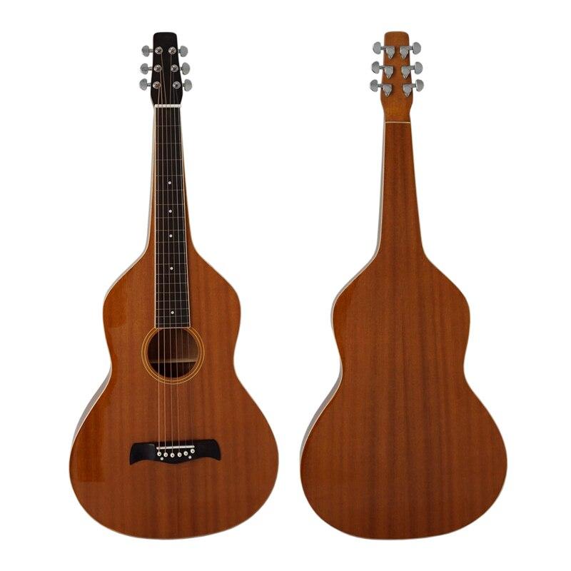 Vintage 1920 style de guitare hawaïen acajou corps hawaïen Weissenborn guitare à glissière modèle HG001