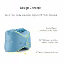 Memory Foam Knee Supporting Pillow for Sleep