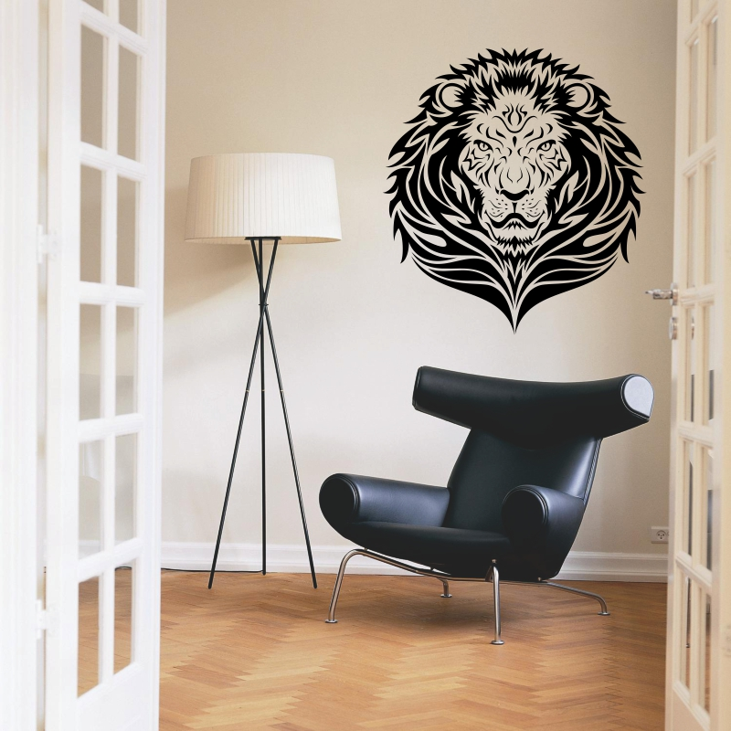 tiger Sticker Logo Name tiger Decal Posters Vinyl Wall Decals Pegatina Quadro Parede Decor Mural tiger Sticker b