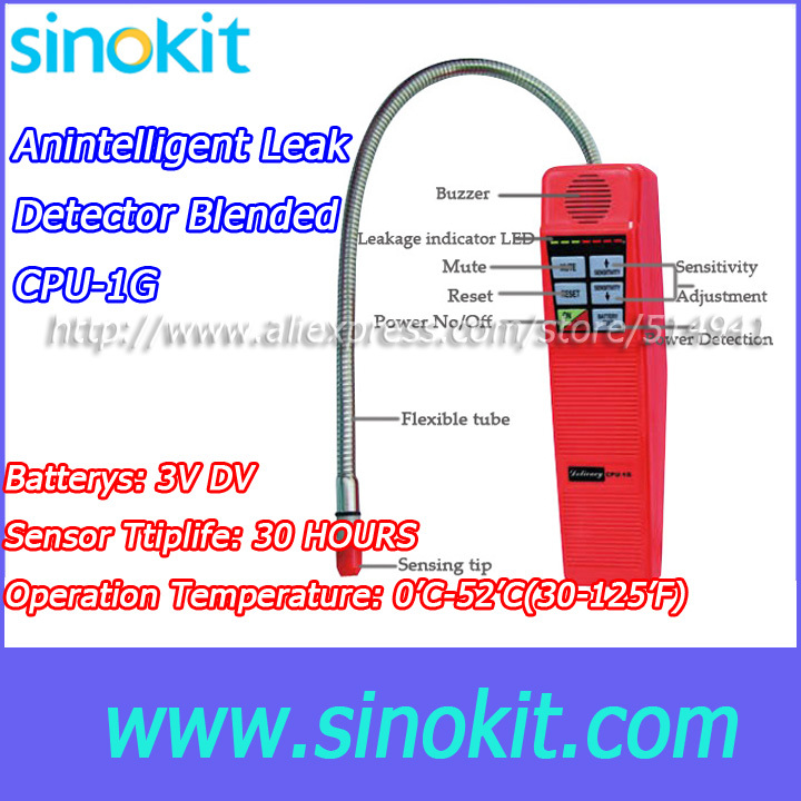 Wholesales Hospital halogenated carriergas Seven levels of sensitivity Gas Leak Detector -  CPU-1G