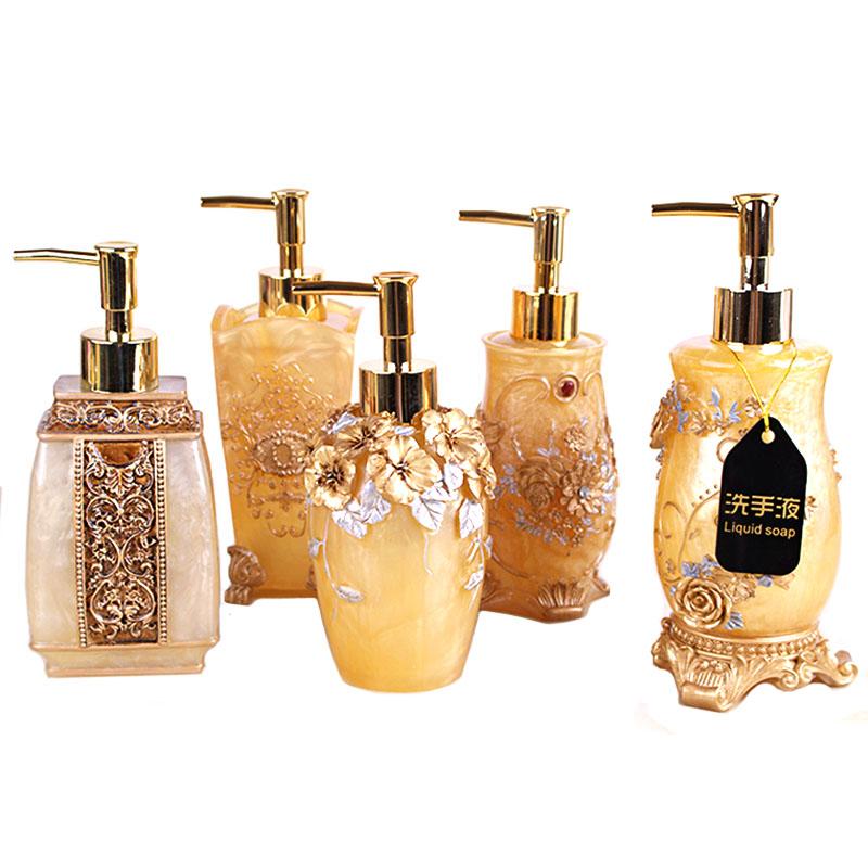 Sanitizer Bottle Bathroom Liquid Soap Dispenser Shampoo Detergent Kitchen Silicone Pump Kitchen Portable Soap Dispenser LY66