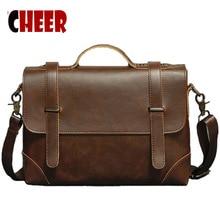 Новая мода loptop деловой портфель известных брендов мужские сумки через плечо винтажные известные дизайнерские бренды Сумка через плечо