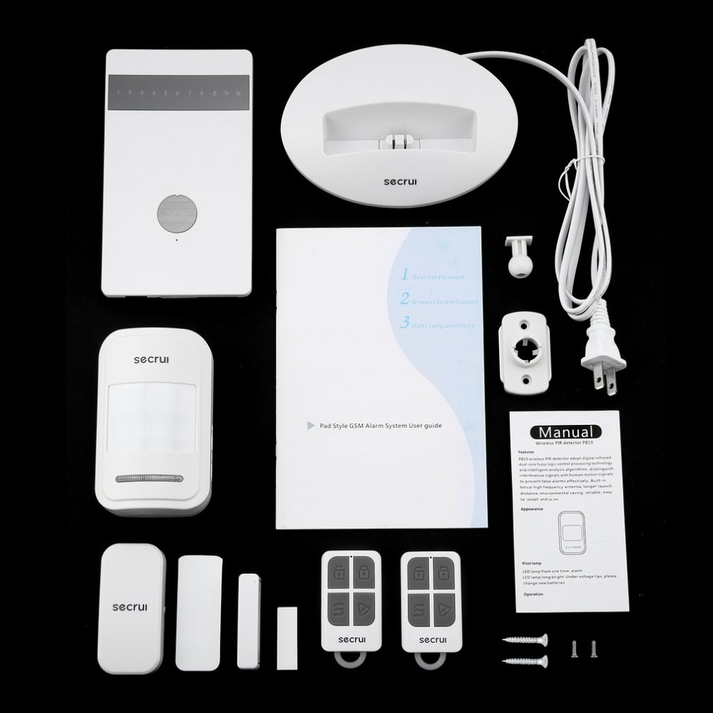 Newest Wireless Alarm Systems Security Home Burglar Alarm System Android IOS APP Remote Controlled GSM Voice Prompt newest wireless alarm systems security home burglar alarm system android ios app remote controlled gsm voice prompt