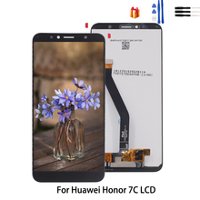 Original For Huawei Honor 7C Aum-L41 Touch Screen Digitizer LCD Display For Honor 7C Screen LCD Display Replacement Free Tools 13 3 laptop lcd screen for n133bge l41 rev c3 ecran laptop lcd display screen suitable asus s300