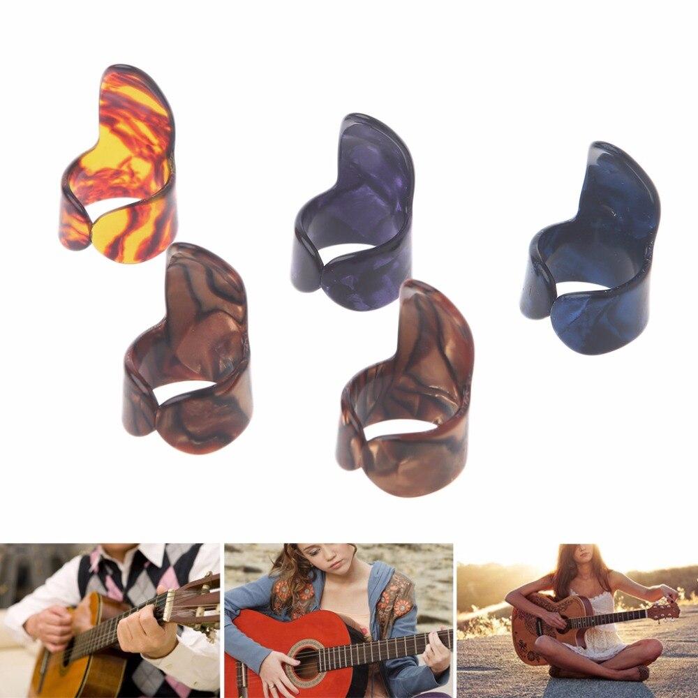 Index Finger Guitar Pick Celluloid Mediator for Acoustic Electric Guitar S20