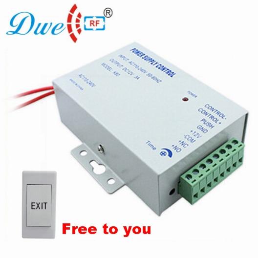 DWE CC RF Access Control Power Supply RFID Fingerprint Door Device Mini Power Supply Control K80