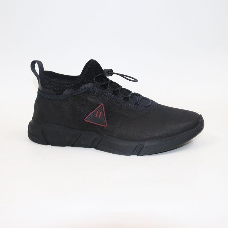 Décontracté chaussures en Cuir chaussures hommes baskets