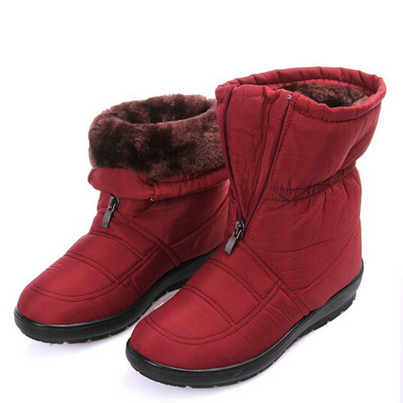 Fashion Casual Winter Snow Boots Women S Waterproof Ankle