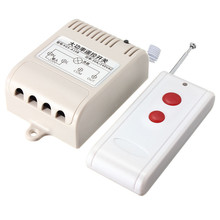 New Arrival AC 220V 30A Relay 1CH Wireless RF Remote Control Switch Transmitter+ Receiver