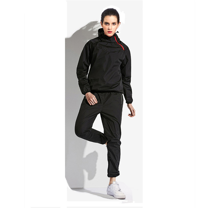 Women s Sports Suit fitnes Set Hot Sweat Waterproof Gym Fitness Sportswear Running Jogging Suit Cloth