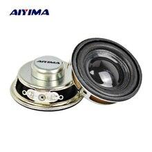 AIYIMA 2 шт. твитер аудио портативный динамик громче динамик радио круглый динамик s 1,5 дюймов 4 Ом 3 Вт