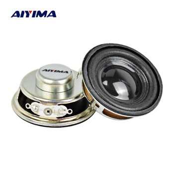 AIYIMA 2Pcs Tweeter Audio Portable Speaker Louderspeaker Radio Round Speakers 1.5 Inch 4 Ohm 3 W image