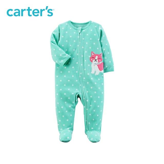 740e091ebf75 Carter s 1 Piece baby children kids clothing Girl Sping Fall Fox Zip ...
