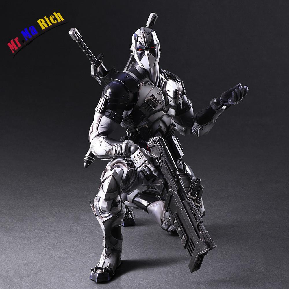 Oyun Sanatlari 27 cm Marvel x-men Deadpool X kuvvet Gri Pvc Action Figure Model OyuncakOyun Sanatlari 27 cm Marvel x-men Deadpool X kuvvet Gri Pvc Action Figure Model Oyuncak