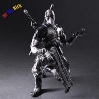 Play Arts 27 см Marvel X men Дэдпул X force серый ПВХ фигурка модель игрушки