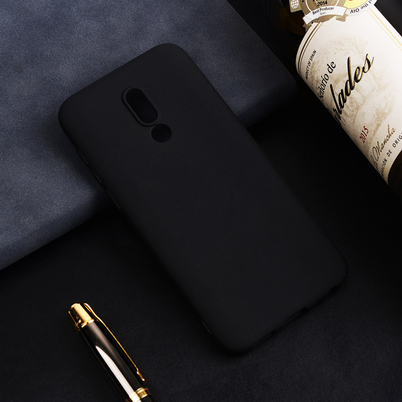 Ultra thin solid color silicone <font><b>case</b></font> For Maizu M5 M6 <font><b>Note</b></font> 16 Plus 16th 16X M5C M5S <font><b>Note</b></font> 8 <font><b>9</b></font> X8 Back Cover <font><b>Case</b></font> For Meizu 16X image