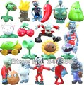 20 Pcs/Lot Plants VS Zombies PVZ Toys Zombies PVC Action Figure  Model Toys