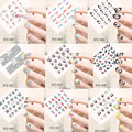 1pcs Fashion Designs Water Transfer Nail Art Sticker Watermark Decals DIY Decoration For Beauty Nail Tools  STZ001-031