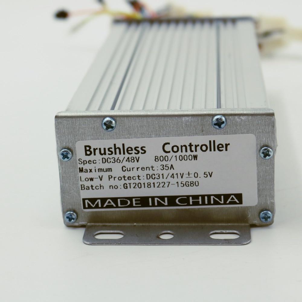 GREENTIME 15 Mosfets 48V 800W/1000W Dual mode Sensor/Sensorless Brushless DC Motor ControllerGREENTIME 15 Mosfets 48V 800W/1000W Dual mode Sensor/Sensorless Brushless DC Motor Controller