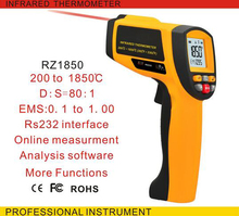 Cheaper GM1850 Digital infrared thermometer temperature measuring gun industrial thermometer online measuring 200 degrees to 1850 degree