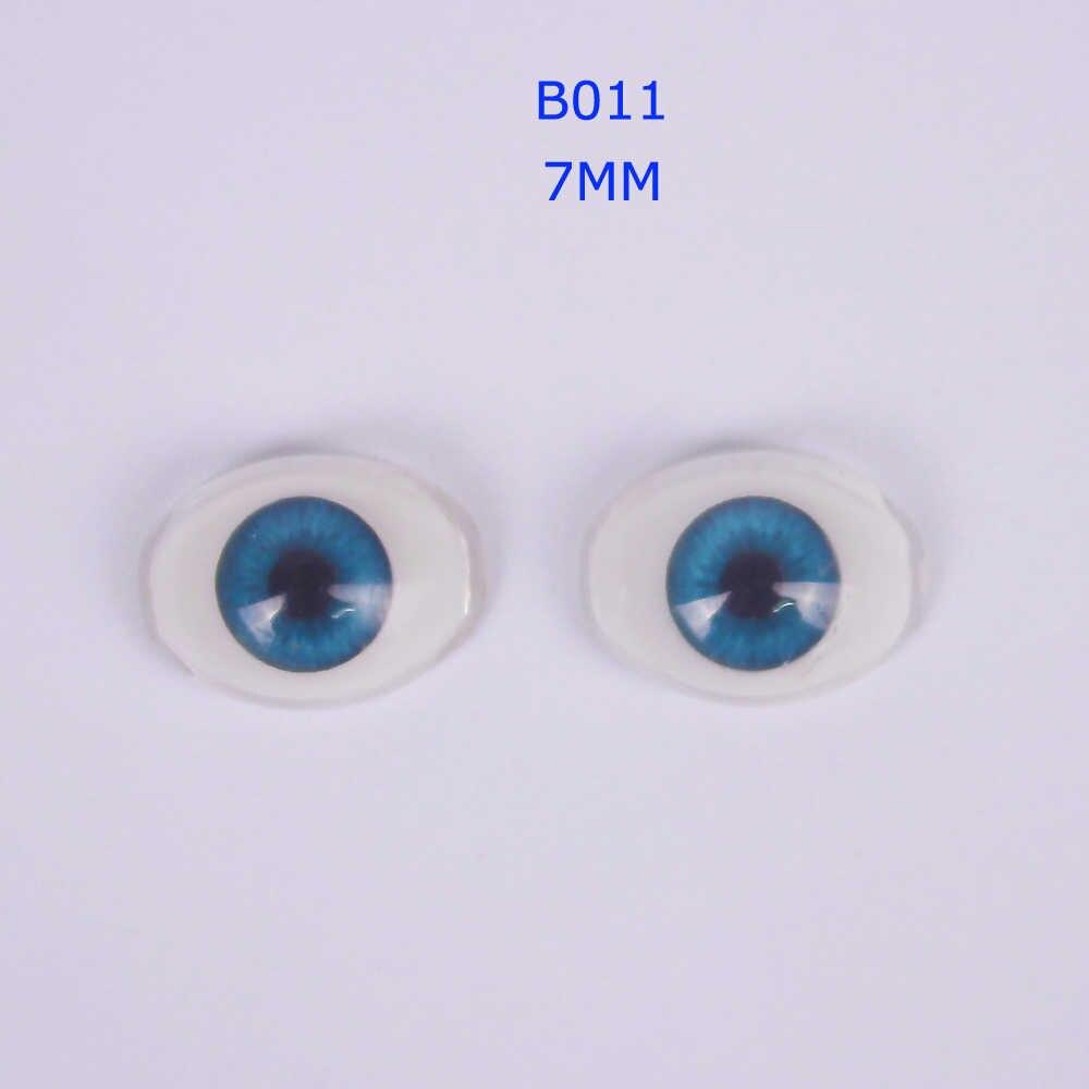 Полукруглые Пластиковые акриловые глаза кукольные глаза разного размера и формы для Reborn комплект кукол аксессуары