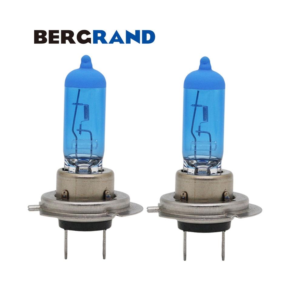 Iveco Daily H7 100w Super White Xenon HID High Main Beam Headlight Bulbs Pair