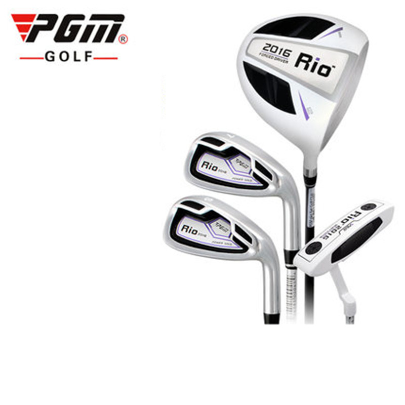 2018 New Golf Headcover Set Of Lever Pgm Genuine Club Lady Practice Half Sets Primer Beginner Pole 4 Commonly Used Rod Kltg002 pgm golf club sand bar practice special digging rod stainless steel knife back design wholesale