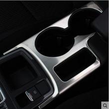 1 шт. АБС хром пластины автомобильный держатель стакана воды украсить литье кольцо интерьер для Mazda CX-5 CX5 2015 2016 автомобилей стиль аксессуары