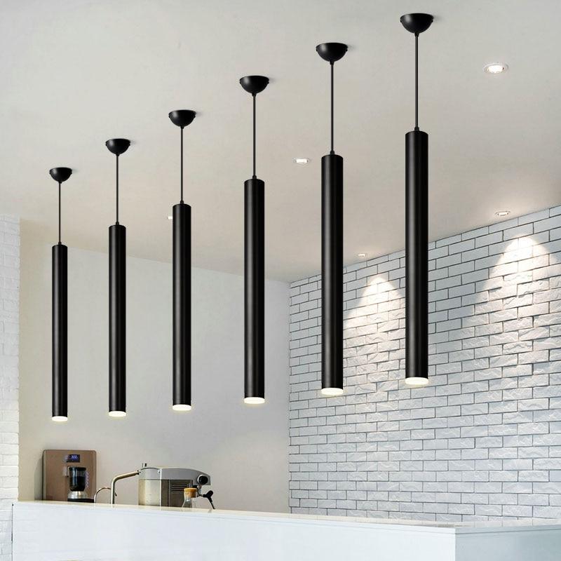 Cylinder Pipe Pendant Light Cylinder Light Dining Room