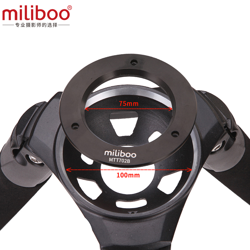 miliboo MTT702B Portable Carbon Fiber Tripod for Professional Camcorder/Video Camera/DSLR Tripod Stand,with Hydraulic Ball Head-in Tripods from Consumer Electronics    3