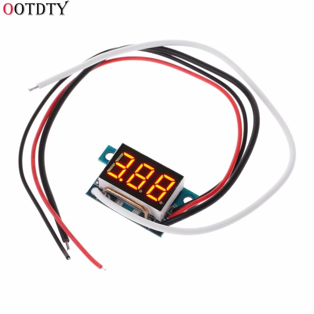 Цифровой светодиодный амперметр постоянного тока, 4 30 в, 0 10 А, измеритель тока, панель 0,36 дюйма, модуль защиты заднего хода, тестер, инструменты|Измерители тока|   | АлиЭкспресс